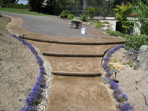 Concrete-Stair-Steps-Bonney-Lake-WA